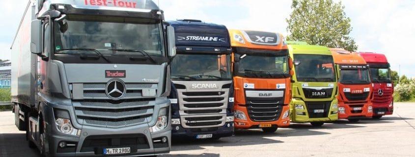 Marcas implicadas en el cártel de camiones